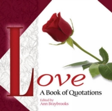Love : A Book of Quotations, Paperback / softback Book