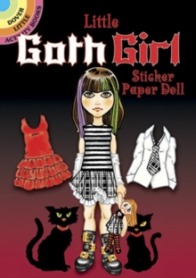 Little Goth Girl Sticker Paper Doll, Paperback / softback Book