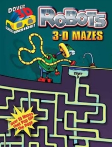 Robots : 3-D Mazes, Mixed media product Book