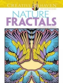 Creative Haven Nature Fractals Coloring Book, Paperback / softback Book