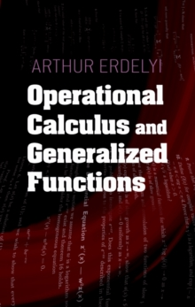 Operational Calculus and Generalized Functions, Paperback / softback Book