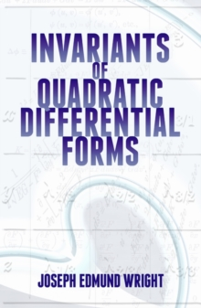 Invariants of Quadratic Differential Forms, Paperback / softback Book