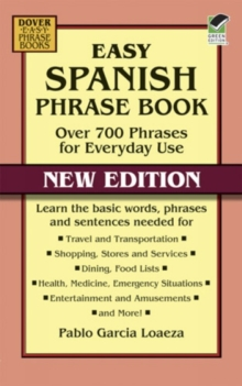 Easy Spanish Phrase Book NEW EDITION, Paperback / softback Book