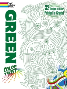 COLORTWIST -- Green Coloring Book, Paperback / softback Book