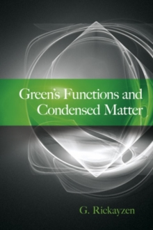 Green's Functions and Condensed Matter, Paperback / softback Book