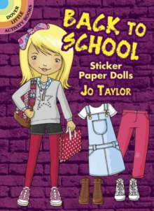 Back to School Sticker Paper Dolls, Stickers Book