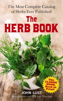 The Herb Book, Paperback Book