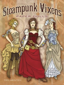 Steampunk Vixens Paper Dolls, Paperback / softback Book