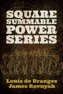 Square Summable Power Series, Paperback / softback Book