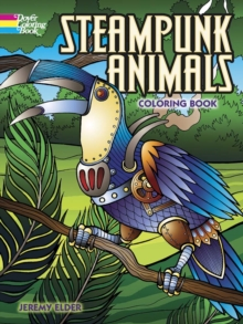 Steampunk Animals Coloring Book, Paperback / softback Book