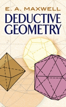 Deductive Geometry, Paperback / softback Book