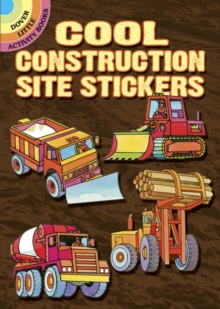 Cool Construction Site Stickers, Stickers Book