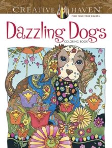 Creative Haven Dazzling Dogs Coloring Book, Paperback / softback Book
