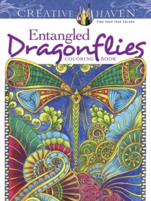 Creative Haven Entangled Dragonflies Coloring Book, Paperback / softback Book