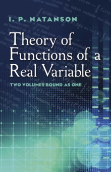 Theory of Functions of a Real Variable, Paperback / softback Book