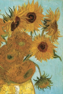 Van Gogh's Sunflowers Notebook, Paperback / softback Book