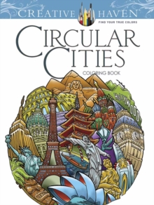 Creative Haven Circular Cities Coloring Book, Paperback / softback Book