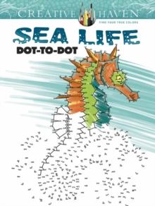 Creative Haven Sea Life Dot-to-Dot, Paperback / softback Book