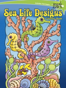 SPARK Sea Life Designs Coloring Book, Paperback / softback Book