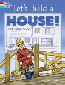 Let's Build a House! Coloring Book, Paperback / softback Book