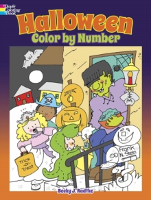 Halloween Color by Number, Paperback / softback Book