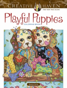 Creative Haven Playful Puppies Coloring Book (working title), Paperback / softback Book
