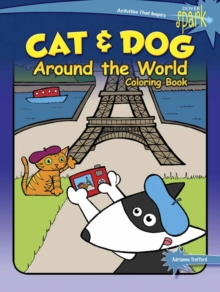 SPARK Cat & Dog Around the World Coloring Book, Paperback / softback Book