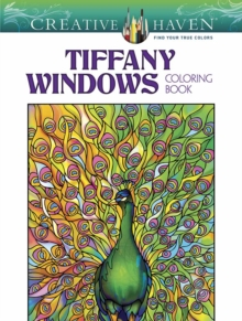 Creative Haven Tiffany Windows Coloring Book, Paperback / softback Book