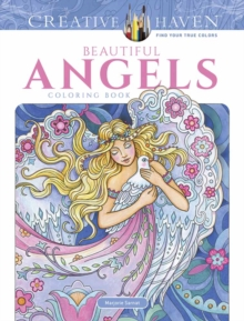 Creative Haven Beautiful Angels Coloring Book, Paperback / softback Book