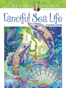 Creative Haven Fanciful Sea Life Coloring Book, Paperback / softback Book