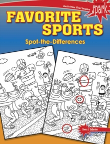 SPARK Favorite Sports Spot-the-Differences, Paperback Book