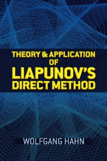 Theory and Application of Liapunov's Direct Method, Paperback / softback Book