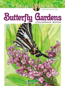 Creative Haven Butterfly Gardens Coloring Book, Other book format Book
