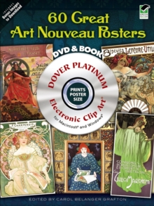 "120 Great ""Art Nouveau"" Posters, Mixed media product Book"