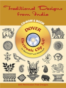 Traditional Designs from India CD-Rom and Book, Kit Book