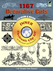 1167 Decorative Cuts, Mixed media product Book