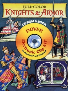 Full-color Knights and Armor, Mixed media product Book