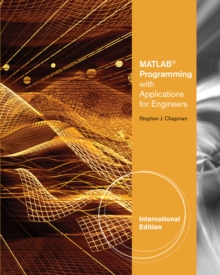 MATLAB Programming with Applications for Engineers, International Edition, Paperback / softback Book