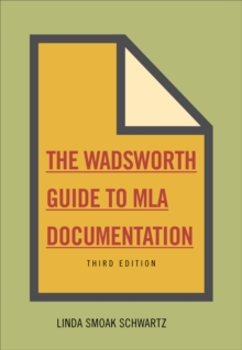 The Wadsworth Essential Reference Card to the MLA Handbook for Writers of Research Papers, Cards Book