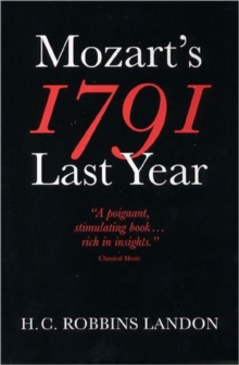 1791: Mozart's Last Year, Paperback Book