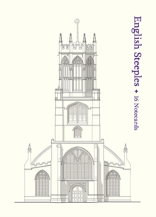 English Steeples: 16 Notecards, Postcard book or pack Book