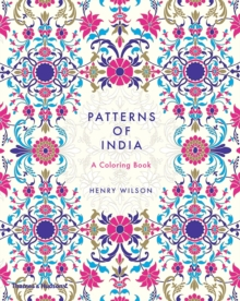 Patterns of India : A Colouring Book, Paperback / softback Book