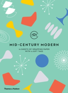 Mid-Century Modern: Gift Wrapping Paper Book, Miscellaneous print Book