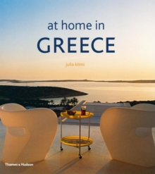 At Home in Greece, Hardback Book
