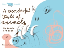 Wonderful World of Animals:My Doodle Art Book, Paperback Book
