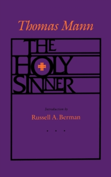 The Holy Sinner, Paperback Book