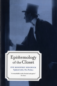 Epistemology of the Closet, Paperback Book