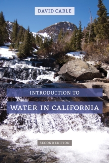 Introduction to Water in California, Paperback Book