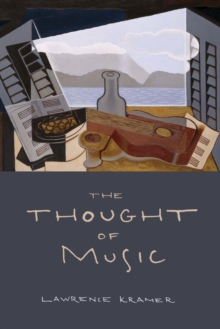 The Thought of Music, Paperback Book