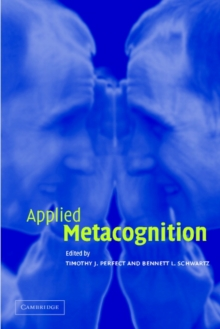 Applied Metacognition, Paperback Book